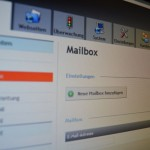 mControl Steuerzentrale: E-Mail Postfächer verwalten